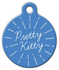 Dog Tag Art Pretty Kitty Pet ID Dog Tag