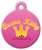 Dog Tag Art Queen Kitty Pet ID Dog Tag