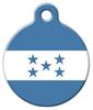 Dog Tag Art National Flag of Honduras Pet ID Dog Tag