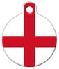 Dog Tag Art Flag of England Pet ID Dog Tag