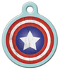 Dog Tag Art America Shield Pet ID Dog Tag