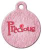 Dog Tag Art Precious Petals Pet ID Dog Tag