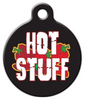 Dog Tag Art Hot Stuff Pet ID Dog Tag