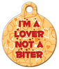 Dog Tag Art I'm a Lover Pet ID Dog Tag