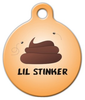 Dog Tag Art Lil Stinker Pet ID Dog Tag