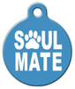 Dog Tag Art Soul Mate Pet ID Dog Tag