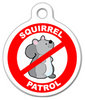 Dog Tag Art Squirrel Patrol Pet ID Dog Tag