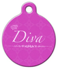Dog Tag Art Diva Pet ID Dog Tag
