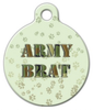 Dog Tag Art Army Brat Pet ID Dog Tag