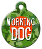 Dog Tag Art Working Dog Pet ID Dog Tag