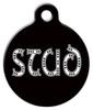 Dog Tag Art Stud Pet ID Dog Tag