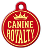 Dog Tag Art Canine Royalty Pet ID Dog Tag