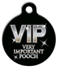 Dog Tag Art Very Important Pooch Pet ID Dog Tag