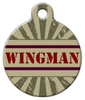 Dog Tag Art Wingman Pet ID Dog Tag