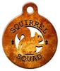 Dog Tag Art Squirrel Squad Pet ID Dog Tag