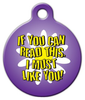 Dog Tag Art I Must Like You Pet ID Dog Tag