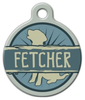 Dog Tag Art Fetcher Pet ID Dog Tag
