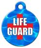 Dog Tag Art Life Guard Pet ID Dog Tag
