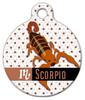 Dog Tag Art Scorpio Pet ID Dog Tag