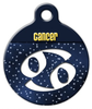 Dog Tag Art Cancer Symbol Pet ID Dog Tag
