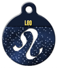 Dog Tag Art Leo Symbol Pet ID Dog Tag