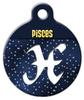 Dog Tag Art Pisces Symbol Pet ID Dog Tag