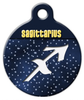 Dog Tag Art Sagittarius Symbol Pet ID Dog Tag