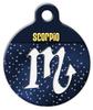Dog Tag Art Scorpio Symbol Pet ID Dog Tag