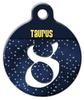 Dog Tag Art Taurus Symbol Pet ID Dog Tag