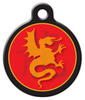 Dog Tag Art Chinese Zodiac Dragon Custom Pet ID Dog Tag