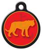 Dog Tag Art Chinese Zodiac Tiger Pet ID Dog Tag