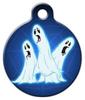 Dog Tag Art Three Ghostly Ghouls Pet ID Dog Tag