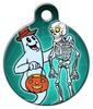 Dog Tag Art Spooky Friends Pet ID Dog Tag