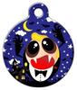 Chibi Vampire Pet ID Dog Tag