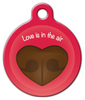 Dog Tag Art Love is in the Air Pet ID Dog Tag