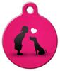 Dog Tag Art My Little Valentine Pet ID Dog Tag