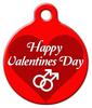 Dog Tag Art Happy Valentines Gay Pet ID Dog Tag