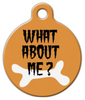 Dog Tag Art What About Me Halloween Pet ID Dog Tag