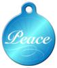 Dog Tag Art Holiday Peace Pet ID Dog Tag