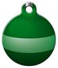 Dog Tag Art Green Ornament Pet ID Dog Tag