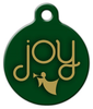 Dog Tag Art Joy Pet ID Dog Tag