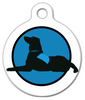Dog Tag Art Therapy Dog Pet ID Dog Tag