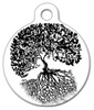 Dog Tag Art Anna's Tree Pet ID Dog Tag