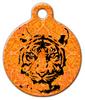 Dog Tag Art Indian Tiger Pet ID Dog Tag