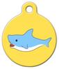 Dog Tag Art Shark Attack! Pet ID Dog Tag