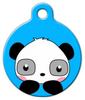 Dog Tag Art Cheery Panda Pet ID Dog Tag