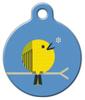 Dog Tag Art Little Yellow Bird Pet ID Dog Tag