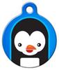 Dog Tag Art Penguin Cutie Pet ID Dog Tag