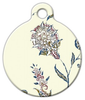 Dog Tag Art Armenian Flower Pet ID Dog Tag