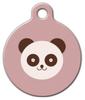 Dog Tag Art Panda Bear Pet ID Dog Tag